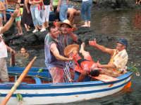 Festeg x la festa di S.Margherita.La simulazione della cattura del pesce a mare  - Pozzillo (5096 clic)