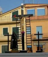 Pasqua 2007 particolare della Madonna Addolorata  - Gela (6843 clic)