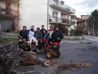 Preparazione del tradizionale fuoco natalizio (Lumiaia)  - Fondachelli fantina (5691 clic)