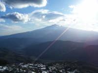 L'Etna vista dal demanio Ferruzza  - Fondachelli fantina (4518 clic)