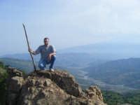 La valle dell'Alcantara vista dalle vette di Fondachelli...  - Fondachelli fantina (7744 clic)