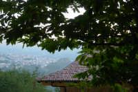 scorcio del paese di Galati mamertino da Villombrosa sui monti Nebrodi  - San salvatore di fitalia (4065 clic)