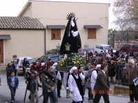 L'addolorata esce dal Signore dell'olmo  - Mazzarino (4283 clic)