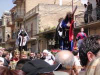 il corteo in prossimita' del calvario  - Mazzarino (3003 clic)