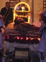 Gesu'posto sul letto di fiori  - Mazzarino (2941 clic)