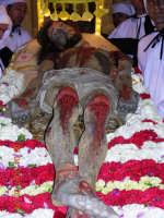 Gesu'posto sul letto di fiori  - Mazzarino (3489 clic)