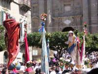 Gesu' Risorto incontra la Madonna.  - Mazzarino (4338 clic)