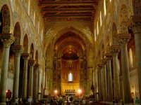 Lo splendido, e unico al mondo, interno del Duomo  - Monreale (4572 clic)