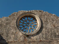 Rosone alla Chiesa di San Giovanni Evangelista  - Siracusa (2429 clic)
