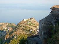 Il Castello Normanno di Taormina visto dal belvedere di Castelmola  - Castelmola (4978 clic)