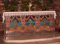 Paliotto dell'altare al Santuario della Santissima Vergine  - Gibilmanna (8413 clic)