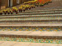 particolare della scalinata CALTAGIRONE Lucia Durisi