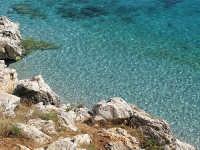 Acque cristalline a Cala Capreria  - Riserva dello zingaro (4327 clic)