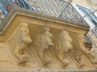 Balcone barocco  - Calascibetta (5666 clic)
