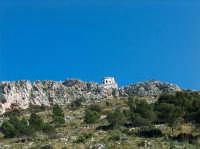 Il semaforo in cima a Capo Gallo PALERMO Lucia Durisi