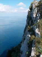 Dalla cima di Capo Gallo, lo strapiombo sul mare PALERMO Lucia Durisi