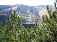 Panorama sul laghetto di Piano Zucchi  - Piano battaglia (3260 clic)