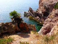 Acqua color smeraldo a Cala Rossa  - Terrasini (6199 clic)