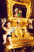 Festa di Sant'Agata 2005. Particolare delle Candelore  - Catania (2384 clic)