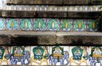 Particolare della scalinata CALTAGIRONE Paola Bertoncini