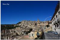 Modica Paesaggio Citta di Modica, Foto panoramica città vecchia. MODICA Enzo Maccheroni