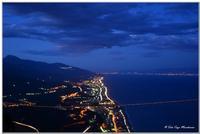 Panoramica Costa Ionica Sicilia e Calabria vista da Forza D'Agro   - Forza d'agrò (7213 clic)