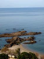 Vista Panoramica scogli e Mar Tirreno nei pressi di Capo D'Orlando  - Capo d'orlando (6804 clic)