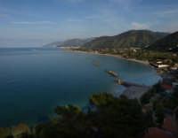 Vista Panoramica Costa Mar Tirreno nei pressi di Capo D'Orlando  - Capo d'orlando (9788 clic)