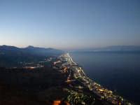 Vista Panoramica lato Messina.  - Forza d'agrò (11535 clic)