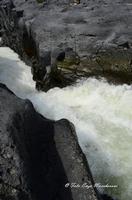 Gole del Simeto Gole del Simeto, formate, come quelle dell'Alcàntara, da una colata di lava i cui enormi massi di basalto sono stati levigati dall'acqua.  - Bronte (1448 clic)