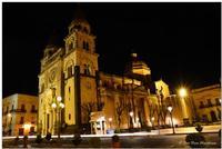 Acireale, notturna Chiesa SS Annunziata (777 clic)
