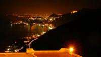 Vista notturna da Forza D'Agrò,lato Catania  - Forza d'agrò (11047 clic)