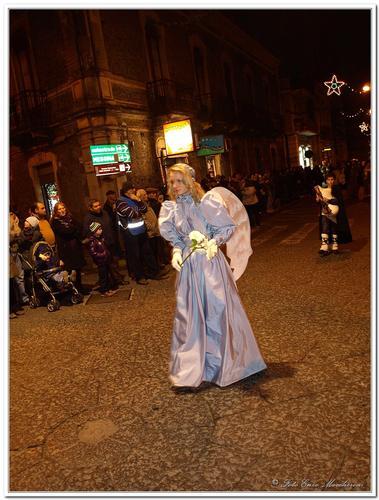 Linguaglossa, I°Sfilata Storica di Natale. - LINGUAGLOSSA - inserita il 01-Feb-11