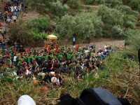 Festa in Onore di San Filippo Siriaco. Alcuni Momenti della discesa di San Filippo, Rituale Religioso, che si ripete da centinaia di Anni.  - Calatabiano (5853 clic)