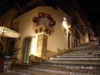 Scalinata di Caltagirone Decorazione dei gradini con ceramica di Caltagirone CALTAGIRONE Enzo Macche