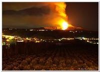 Etna in Eruzione Eruzione dell'Etna del 12-Gennaio-2011 vista da Giarre  - Giarre (22966 clic)