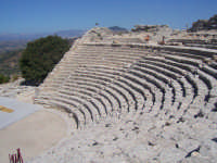 Segesta: Il Teatro  - Segesta (2370 clic)