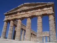 Il tempio di Segesta  - Segesta (1899 clic)