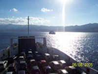 Lo stretto di Messina, da Villa San Giovanni verso la Sicilia  - Messina (6231 clic)