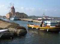 Marsala: imbarcadero per Mozia  - Marsala (1963 clic)