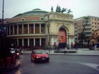 TEATRO POLITEAMA DI PALERMO (Progettato da Giuseppe Damiani Almeyda nel 1867, fu ultimato nel 1891,