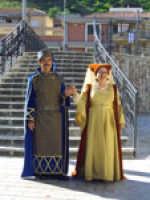 Raduno Fafit, figuranti del corteo storico, gruppo Sbandieratori e Musici Leoni Reali di Camporotondo Etneo (CT).   - Gualtieri sicaminò (5355 clic)