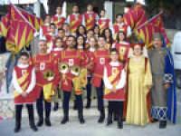 Raduno Fafit, foto ricordo degli Sbandieratori e Musici Leoni Reali di Camporotondo Etneo (CT)  - Gualtieri sicaminò (4426 clic)