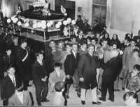 Processione del Venerdì Santo primi anni 60   - Borgetto (9499 clic)
