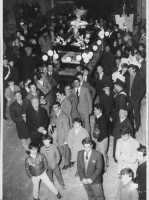 Processione Venerdì Santo primi anni 60  - Borgetto (6110 clic)