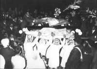 Processione Venerdì Santo primi anni 60  - Borgetto (5409 clic)