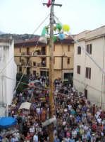Festa della Madonna di Loreto, Albero della Cuccagna  - Borgetto (5729 clic)