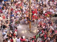 Festa della Madonna di Loreto, Albero della Cuccagna  - Borgetto (8525 clic)