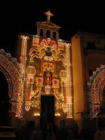P.zza Sant'Anna. Provincia in Festa. FESTONI TIPICI PALERMITANI. PALERMO Salvatore Musso