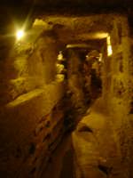 interno catacombe di s.Lucia  - Siracusa (1659 clic)